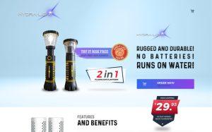 Buyhydralight – A Shopify Platform